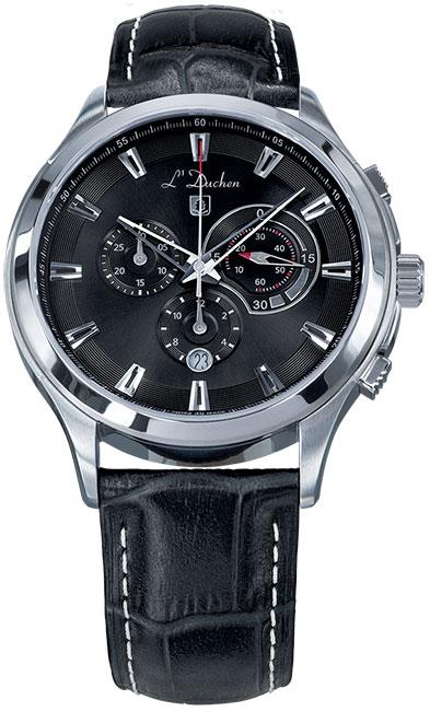 L Duchen Мужские швейцарские наручные часы L Duchen D 742.11.31 l duchen швейцарские наручные  мужские