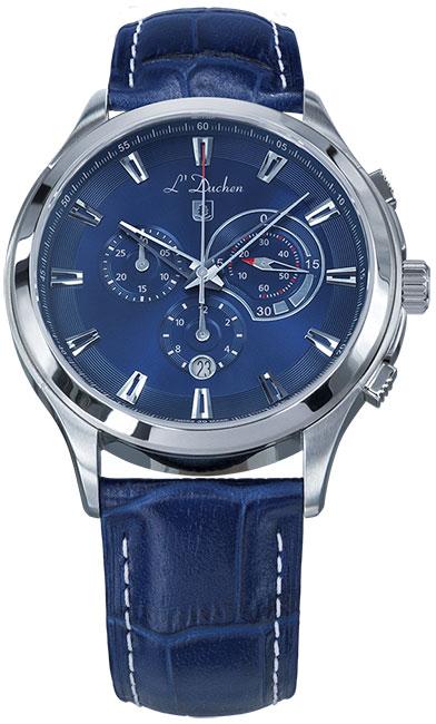 L Duchen Мужские швейцарские наручные часы L Duchen D 742.13.37 l duchen швейцарские наручные  мужские