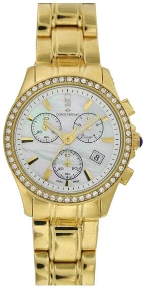 Continental Женские швейцарские наручные часы Continental 1350-235C