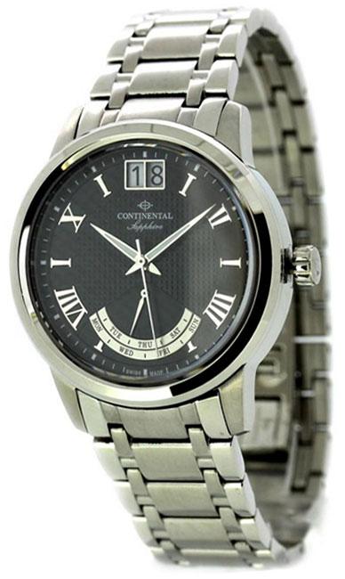 Continental Мужские швейцарские наручные часы Continental 12175-GR101410