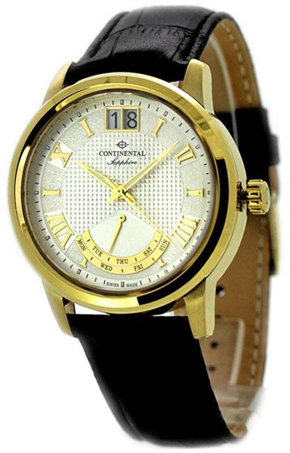 Continental Мужские швейцарские наручные часы Continental 12175-GR254710