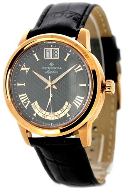 Continental Мужские швейцарские наручные часы Continental 12175-GR554410
