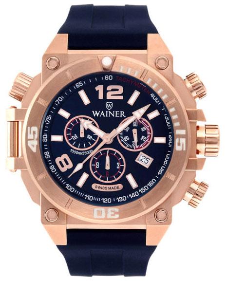 Wainer Мужские швейцарские наручные часы Wainer WA.10920-F