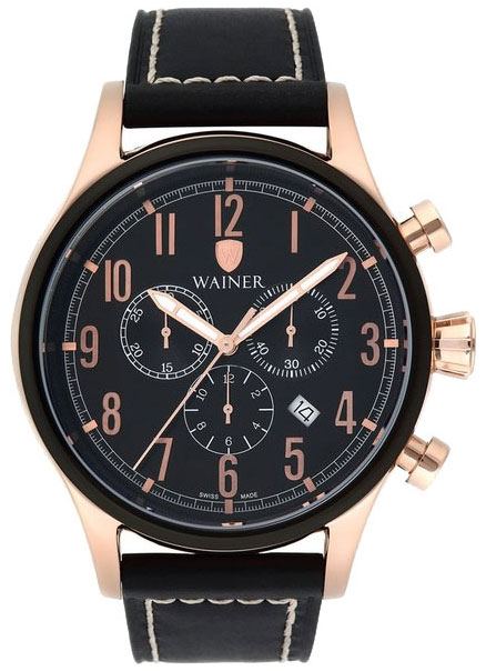 Wainer Мужские швейцарские наручные часы Wainer WA.10666-E