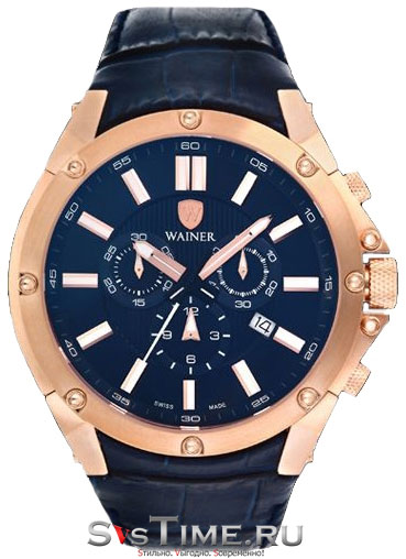 Wainer Мужские швейцарские наручные часы Wainer WA.16900-C