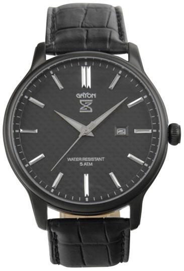 Gryon Мужские швейцарские наручные часы Gryon G 061.64.34