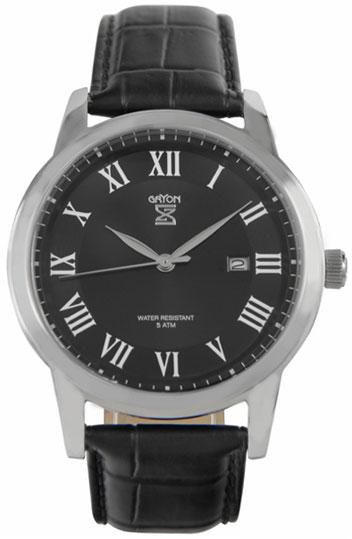 Gryon Мужские швейцарские наручные часы Gryon G 071.11.11