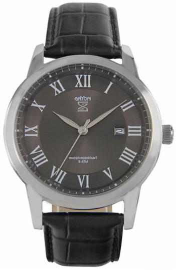 Gryon Мужские швейцарские наручные часы Gryon G 071.11.14