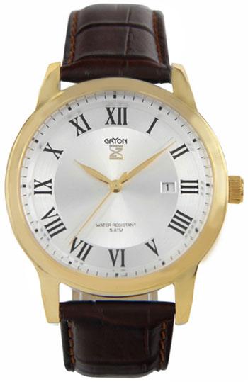 Gryon Мужские швейцарские наручные часы Gryon G 071.22.13