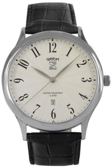 Gryon Мужские швейцарские наручные часы Gryon G 081.11.23