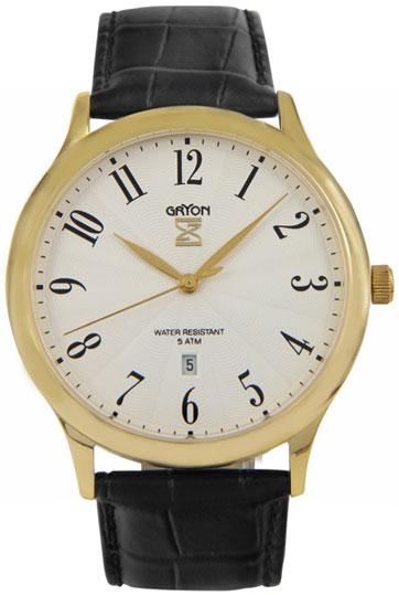 Gryon Мужские швейцарские наручные часы Gryon G 081.21.23