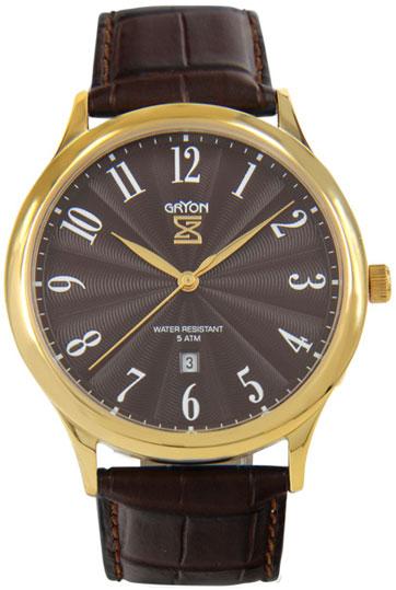 Gryon Мужские швейцарские наручные часы Gryon G 081.22.22