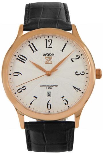 Gryon Мужские швейцарские наручные часы Gryon G 081.41.23