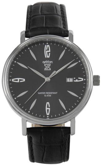 Gryon Мужские швейцарские наручные часы Gryon G 091.11.11