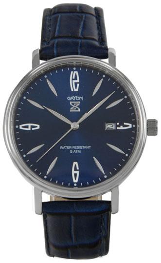 Gryon Мужские швейцарские наручные часы Gryon G 091.16.16