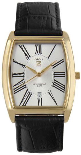 Gryon Мужские швейцарские наручные часы Gryon G 401.21.13