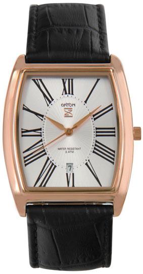 Gryon Мужские швейцарские наручные часы Gryon G 401.41.13