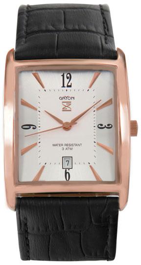 Gryon Мужские швейцарские наручные часы Gryon G 521.41.33