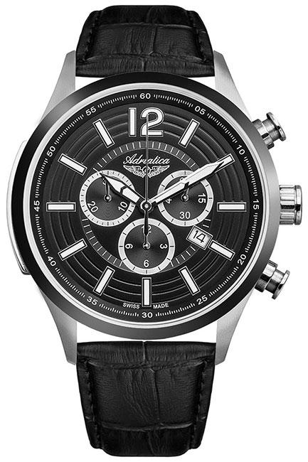 Adriatica Мужские швейцарские наручные часы Adriatica A8188.Y254CH