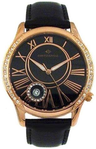 Continental Женские швейцарские наручные часы Continental 1622-RG258