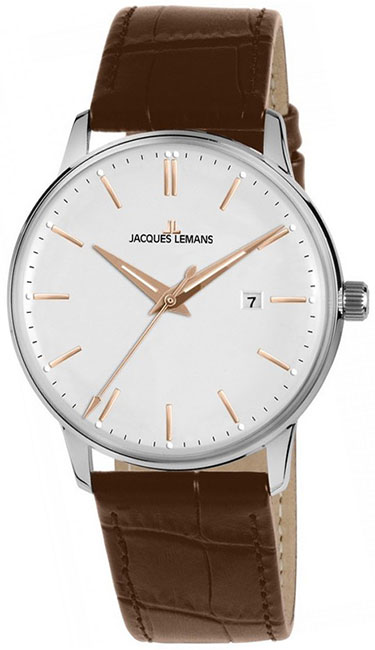 Jacques Lemans Jacques Lemans N-213R мужские часы jacques lemans n 209zg