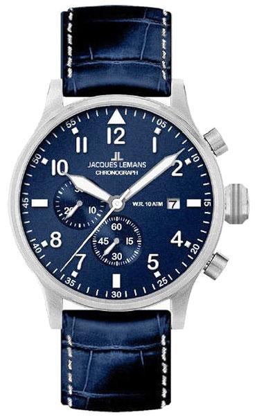 Jacques Lemans Jacques Lemans 1-1915A мужские часы jacques lemans мужские часы 1 1592d