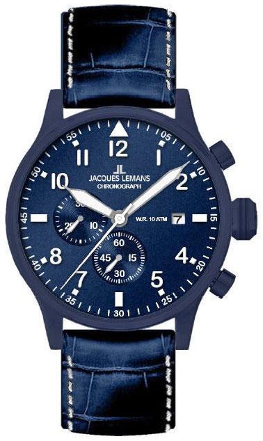 Jacques Lemans Jacques Lemans 1-1915B мужские часы jacques lemans мужские часы 1 1592d