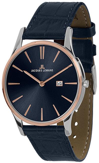 Jacques Lemans Jacques Lemans 1-1936G мужские часы jacques lemans мужские часы 1 1592d