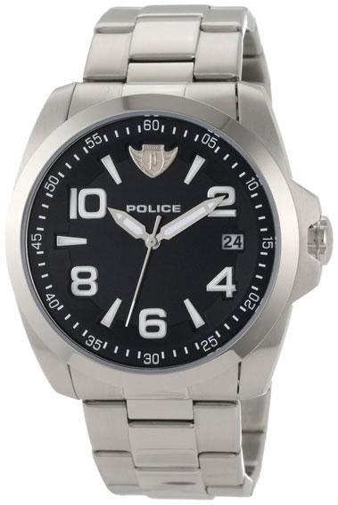 Police Мужские итальянские наручные часы Police PL-12157JVS/02MC