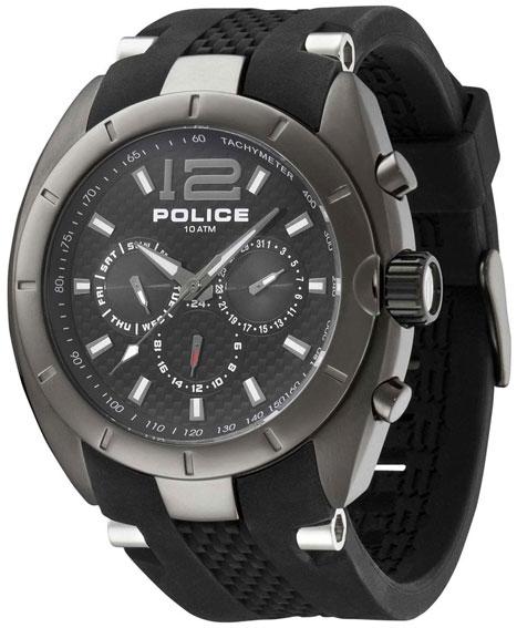 Police Мужские итальянские наручные часы Police PL-12676JISU/02