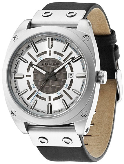 Police Мужские итальянские наручные часы Police PL-12698JS/04