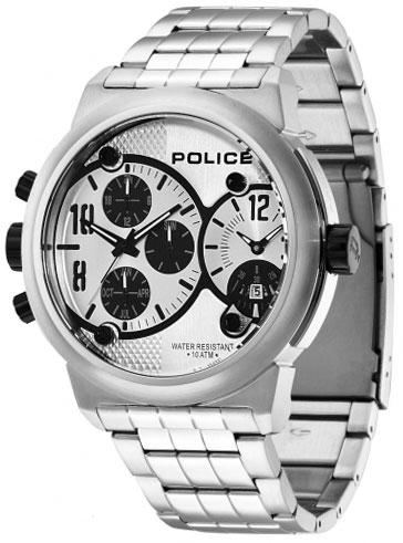 Police Мужские итальянские наручные часы Police PL-12739JIS/04M