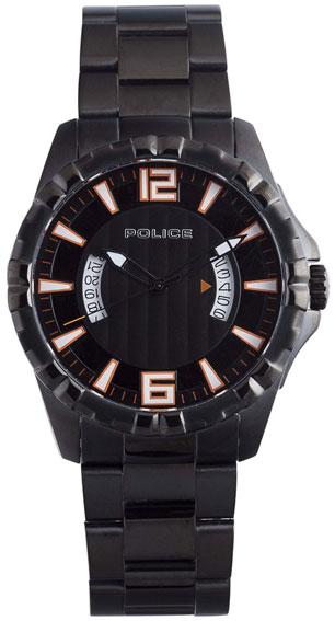 Police Мужские итальянские наручные часы Police PL-12889JSB/02M