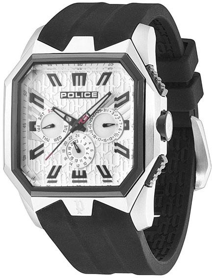 Police Мужские итальянские наручные часы Police PL-12893JSSB/04