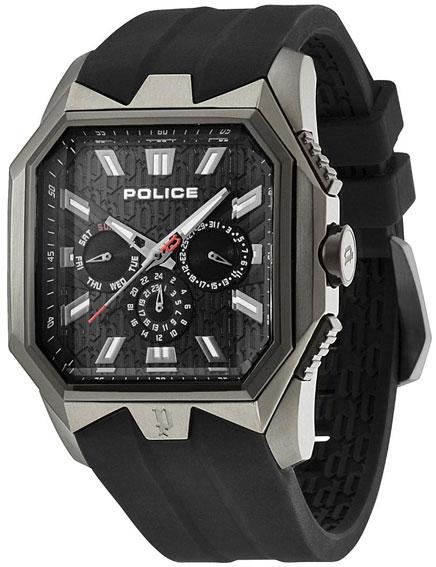 Police Мужские итальянские наручные часы Police PL-12893JSUB/02