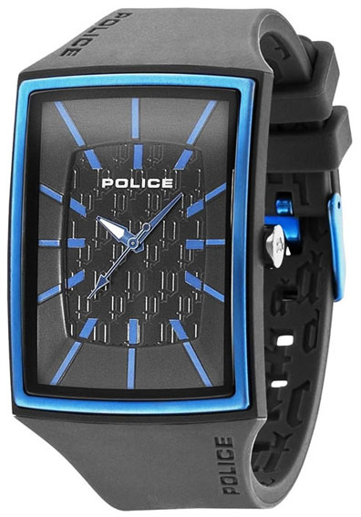 Police Мужские итальянские наручные часы Police PL-13077MPGYBL/02