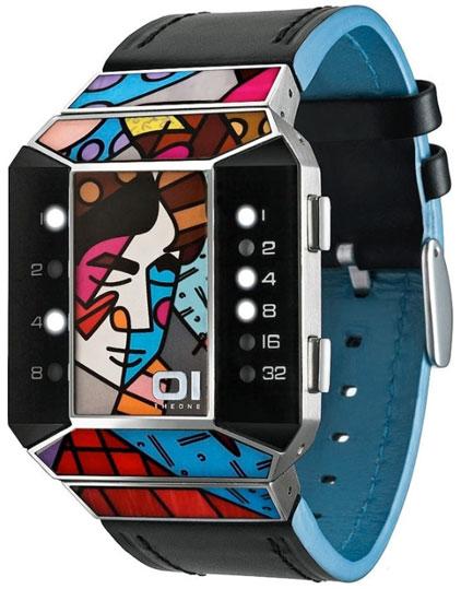 The One Унисекс немецкие наручные часы The One SC124W1