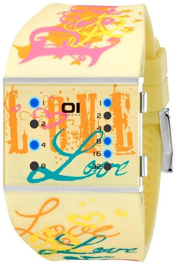 The One Унисекс немецкие наручные часы The One SLSL137B3