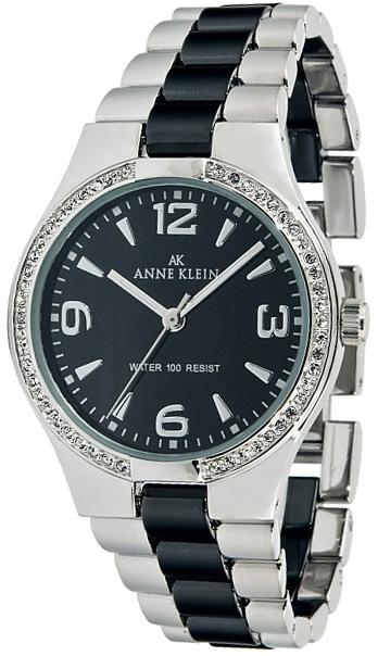 Anne Klein Anne Klein 9119 BKSV anne klein часы anne klein 1868gbst коллекция fashion time