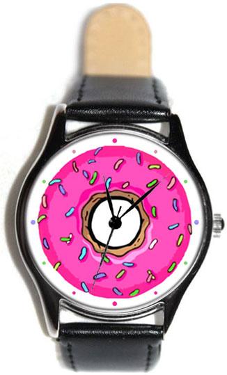 Shot Дизайнерские наручные часы Shot Standart Пончик Гомера