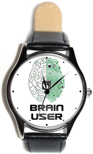 Shot Дизайнерские наручные часы Shot Standart Brain User