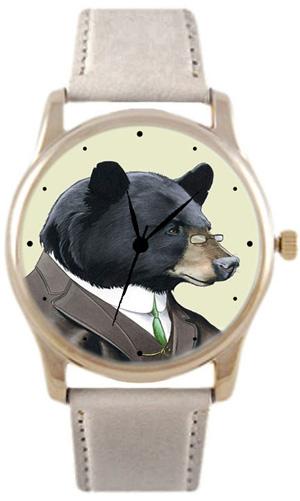 Shot Дизайнерские наручные часы Shot Concept Миша в пенсне