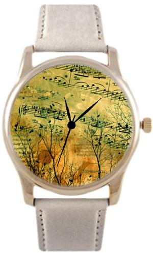 Shot Дизайнерские наручные часы Shot Concept Старые Ноты