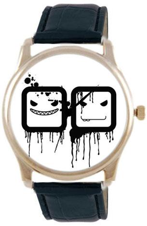 Shot Дизайнерские наручные часы Shot Concept 2 х 2 черн. рем.