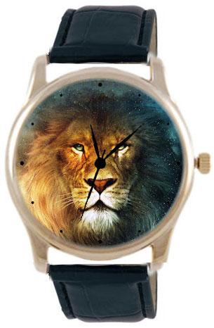 Shot Дизайнерские наручные часы Shot Concept Лев черн. рем.
