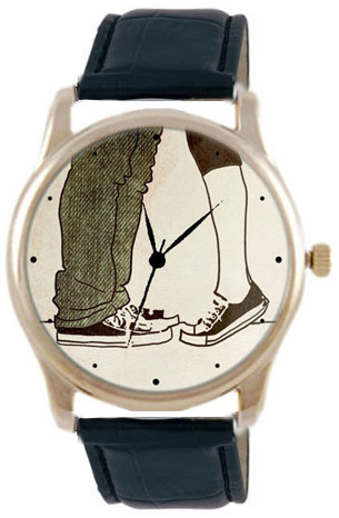 Shot Дизайнерские наручные часы Shot Concept Kiss черн. рем.