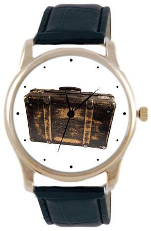 Shot Дизайнерские наручные часы Shot Concept Путешественника черн. рем.