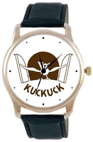Shot Дизайнерские наручные часы Shot Concept С кукушкой черн. рем.