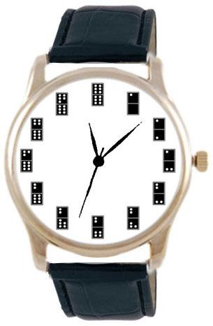 Shot Дизайнерские наручные часы Shot Concept Домино черн. рем.