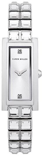 Karen Millen Женские английские наручные часы Karen Millen KM113SM